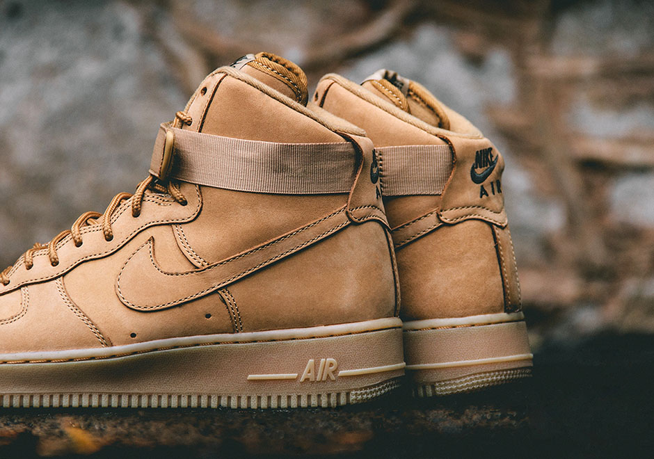 "finest selection e105c d50f8 ... Nike Air Force 1 High 07 ""Flax"" ..."
