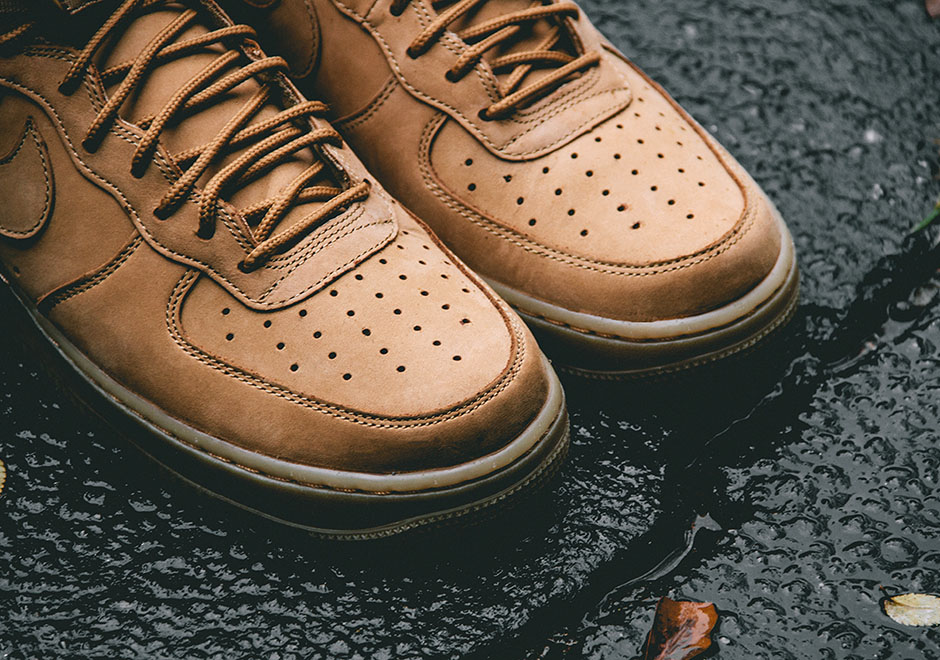 """Nike Air Force 1 High 07 """"Flax"""". Color FlaxFlax-Outdoor Green Style ..."""