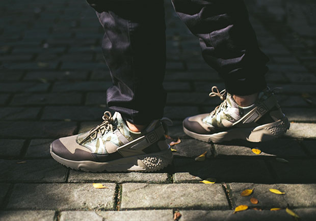 new style 07ac3 ab6f0 ... amazon an on feet look at the nike air huarache utility camo  sneakernews 261bc 0f4fd