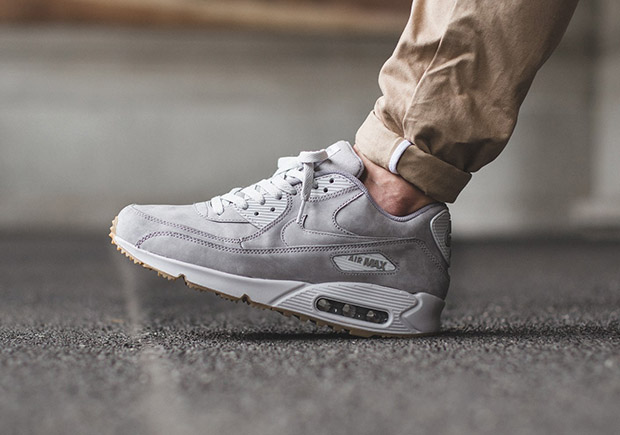 nike air max 90 grey suede