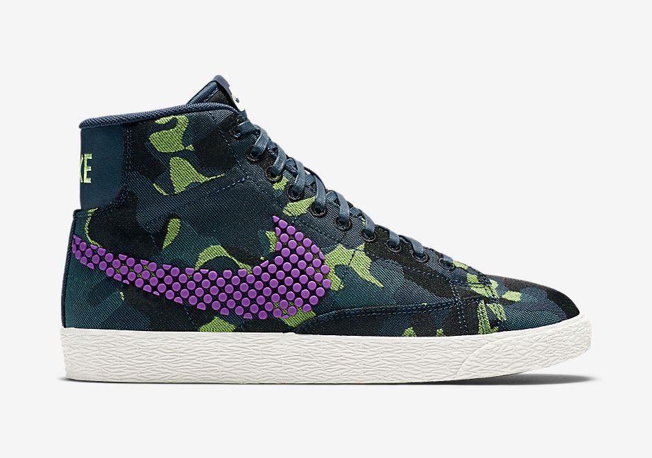 The Nike Blazer Gets The Seasonal Upgrade With Camo And Dot Textures