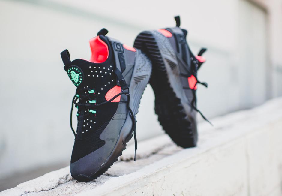 Nike Huarache Negro Rojo Verde Amarillo gIGydoVWm