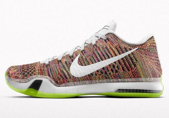 """Multi-Color"" Is Back On The Nike Kobe 10 Elite iD"