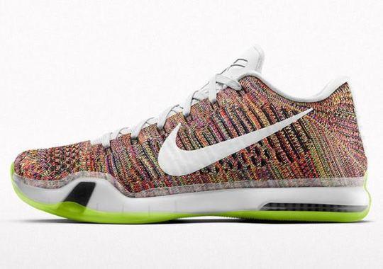 """""""Multi-Color"""" Is Back On The Nike Kobe 10 Elite iD"""