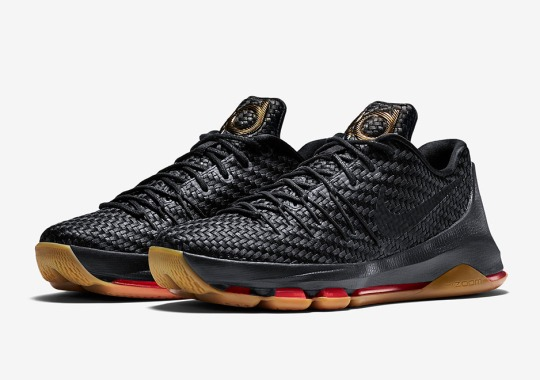 The Nike KD 8 Gets a Premium Woven Upper