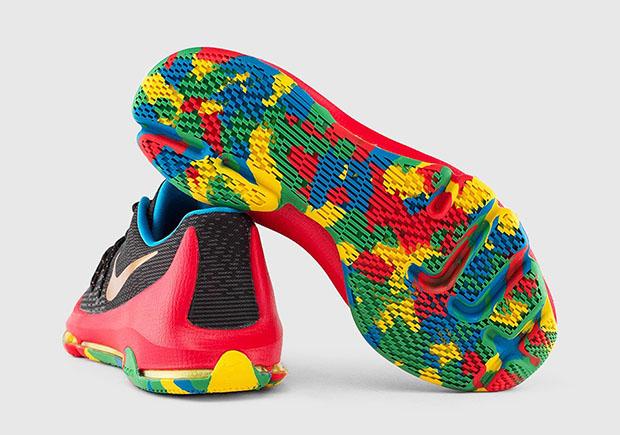 0f2cd196a4dd Nike KD 8 GS. Color  Black University ...