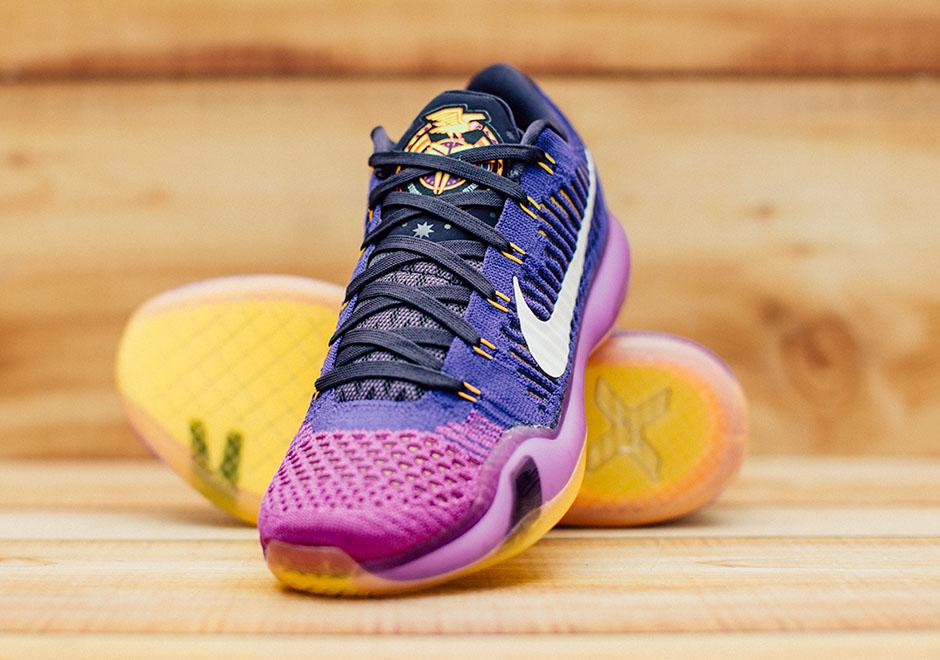 get cheap d03c5 ce333 Kobe Bryant To Begin His Final NBA Season In The Nike Kobe 10 Elite
