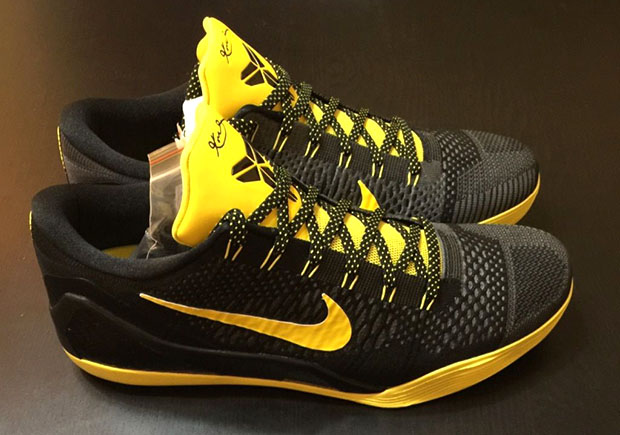 check out a2293 7e65c Kobe Never Wore This Nike Kobe 10 PE, But Now You Can