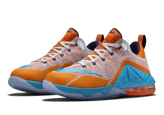 The Nike LeBron 12 Isn't Done Just Yet With New 90s Cavs Inspiration