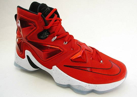 """You Can Buy The Nike LeBron 13 """"Home"""" Weeks Before The Release Date"""