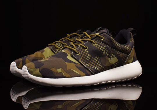 Camo and Polka Dots Combine on This Unique Nike Roshe Run