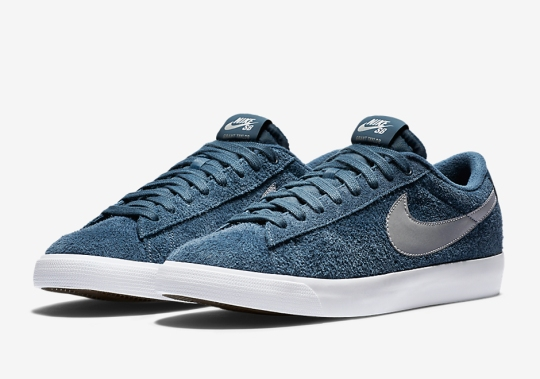 Suede And Leather Are The Perfect Combination On The Nike SB Blazer Low GT