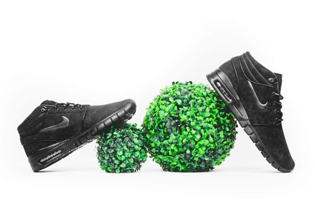 Nike Sb Janoski Max Mid Trippel Svart 6Tkjju34