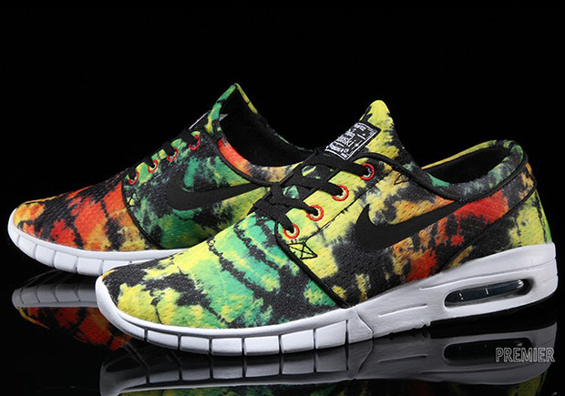 This Tie Dye Stefan Janoski Max is a Little Late For Summer
