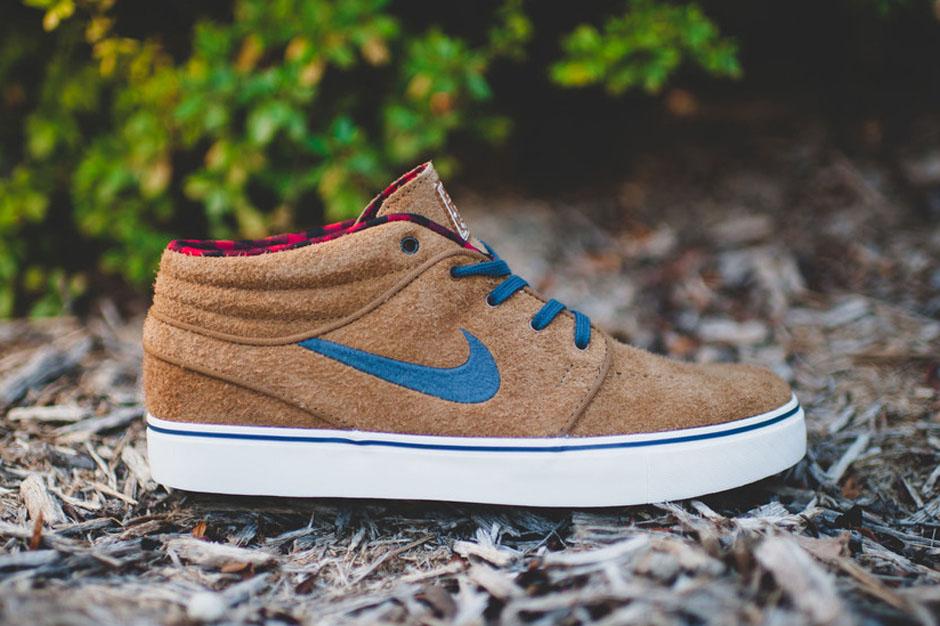 85998f346eaf Nike Zoom Stefan Janoski Mid. The Nike SB Shoe For Lumberjacks