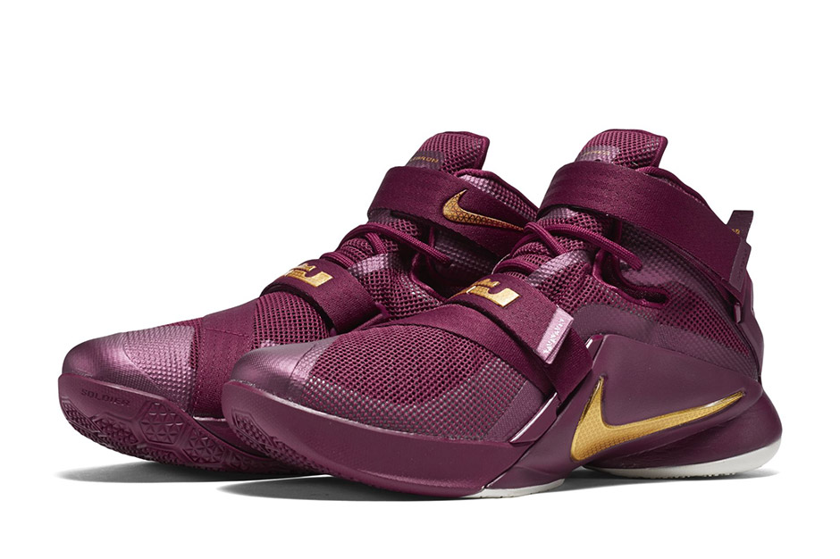 best sneakers 20a05 38693 Nike Zoom Soldier 9 Lebron James Soldier IX Black Black Oran LeBron Wants  Tristan Thompson Back So He Can Wear These Nike Zoom Soldier 9s ...
