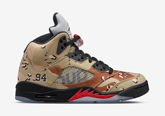 NikeLab Just Released The Camo Supreme Jordans