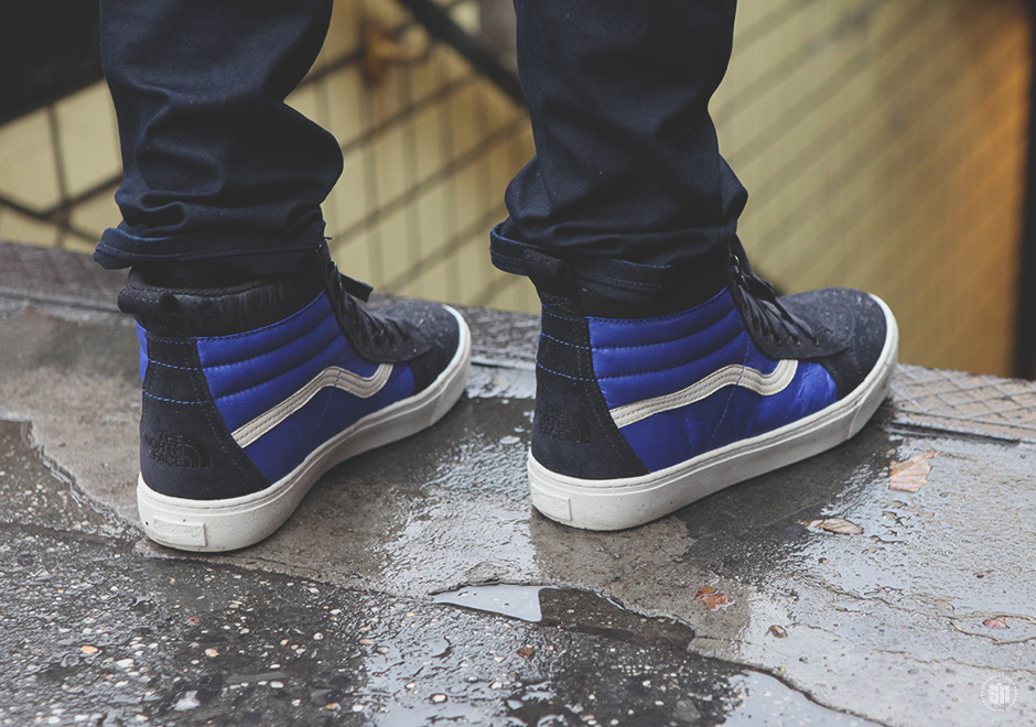 99592ca5cb5 The results of Vans and The North Face joining forces are the most logical  products for the two brands to make  sneakers with Vans  signature style  equipped ...