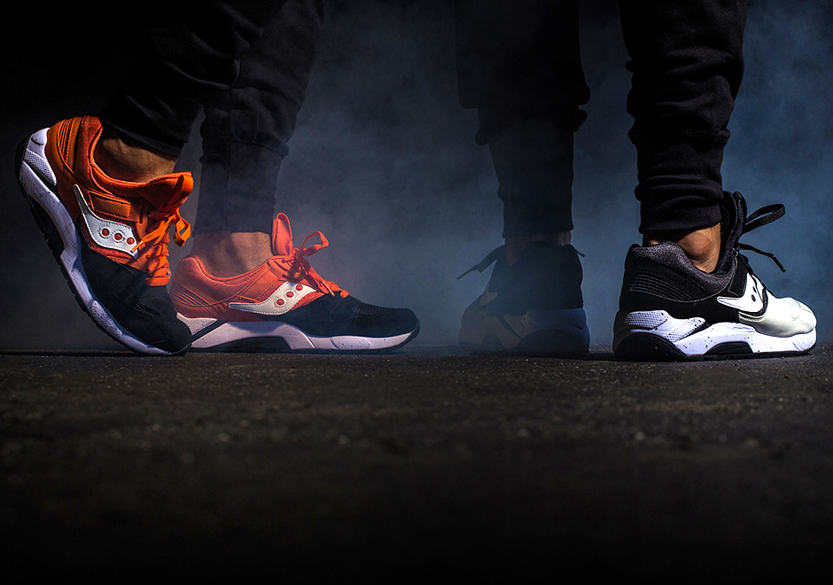 The Saucony Grid 9000 Gets Spooky With the