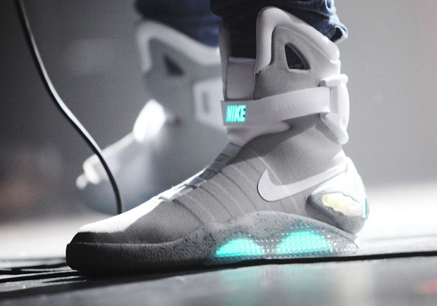 Self-Lacing Nike Mags Are In NYC