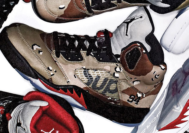 2e50441451f Supreme x Air Jordan 5 Won t Release Today According To Supreme s Brand  Director