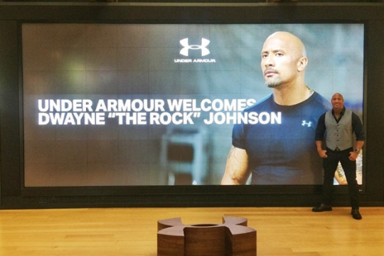 The Rock Has Finally Signed With Under Armour