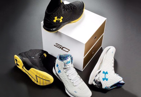 First Look At The UA Curry One Championship Pack