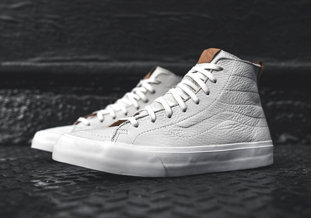 9d34605eb6af The Vans CA Sk8-Hi Decon in  Winter White  is arriving now at finer Vans  retailers like Kith NYC.