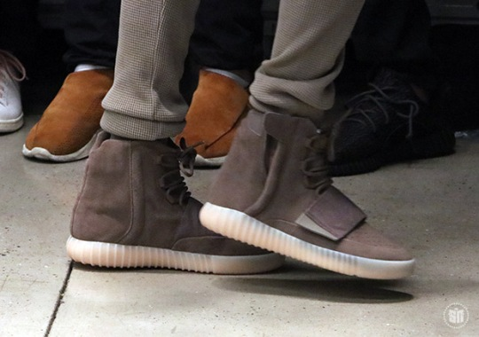 Upcoming adidas Yeezy Boost 750 Spotted On The Streets