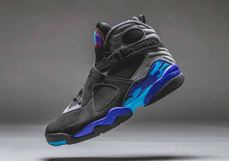 promo code e2e32 53bce Jordan 8 Aqua Release Info   SneakerNews.com