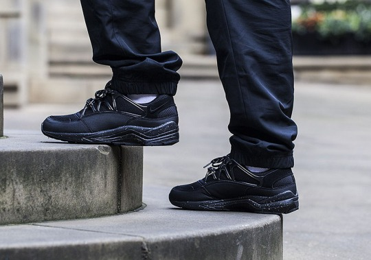 The Nike Air Huarache Light Goes All-Black…Almost