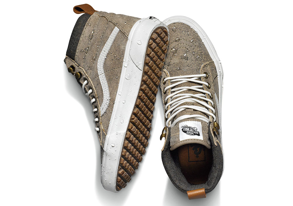 971695ac9a79de Vans Introduces More Weatherproof Sneakers Ready For Winter -  SneakerNews.com
