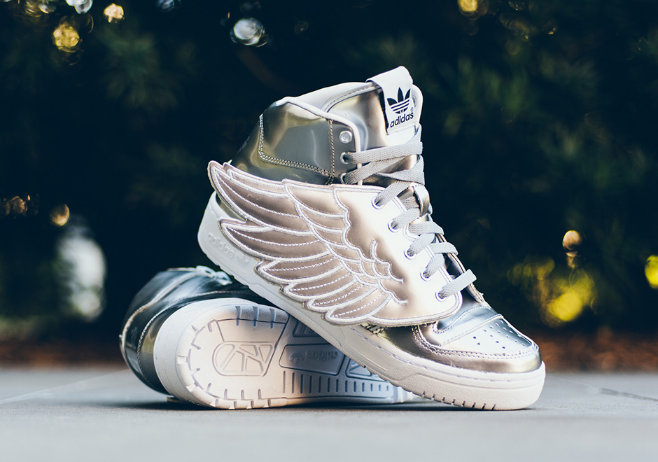save off 6017c 06d20 The adidas JS Wings 2.0 Returns In Metallic Silver