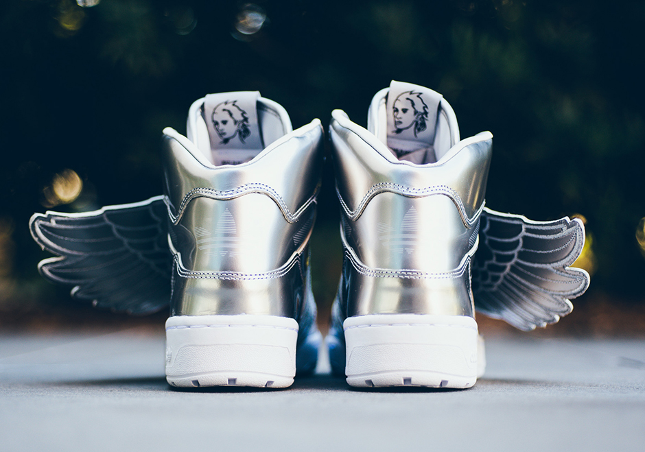 The adidas JS Wings 2.0 Returns In Metallic Silver