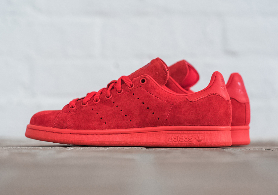 nouveau produit 57ae1 86734 It's About Time An All-Red adidas Stan Smith Appeared ...