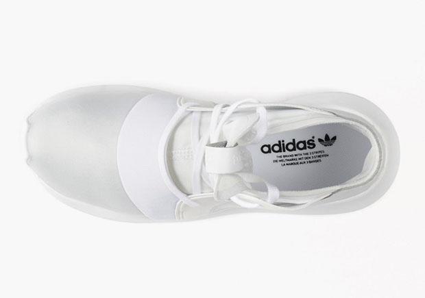 Las Mujeres Blancas Tubulares Adidas z983nn2bvd