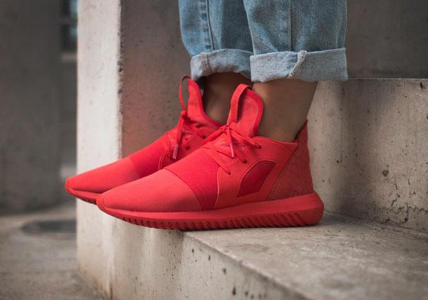 Adidas Tubular Para Mujer Roja eTlZfo