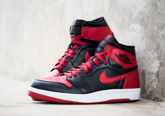 """This Will Be Your Last Chance At """"Bred"""" Air Jordan 1s In A While"""
