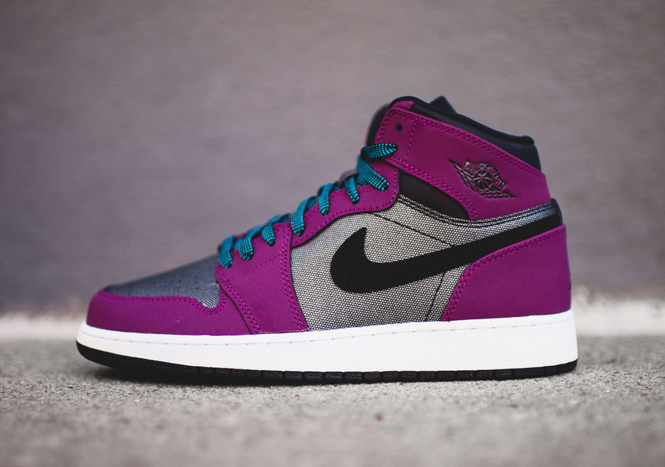 air jordan 1 retro high gg white/purple
