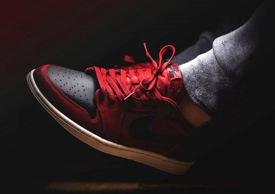 """Another Take On """"Bred"""" By The Air Jordan 1 Low OG"""
