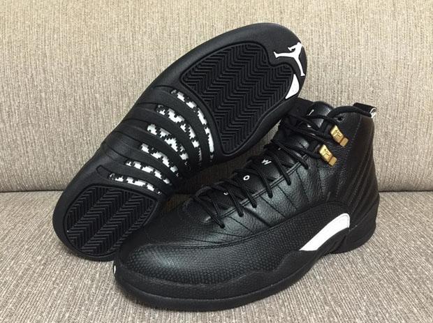 "e8f67b5132e6 ... Air Jordan 12 ""The Master"". Color BlackRattan-White-Metallic Gold ..."