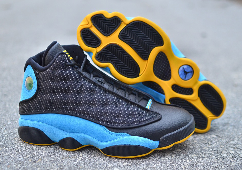 6daed7d10ae Air Jordan 13 CP3. Color: Black/Orion Blue-Sunstone Style Code: 823902-015. Release  Date: November 7th, 2015. Price: $200