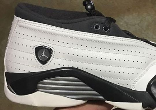 A Brand New Air Jordan 14 Low Retro Arrives This Month