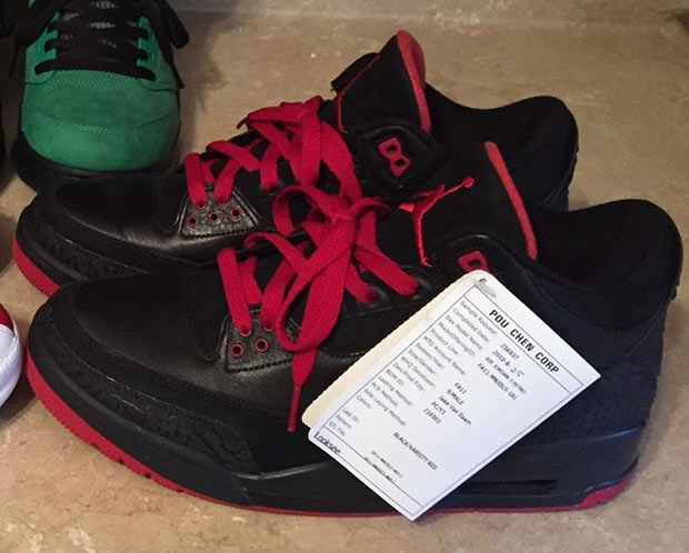 a0c10a3f01f880 ... australia in any case peep these bred air jordan 3 samples below and  find the full