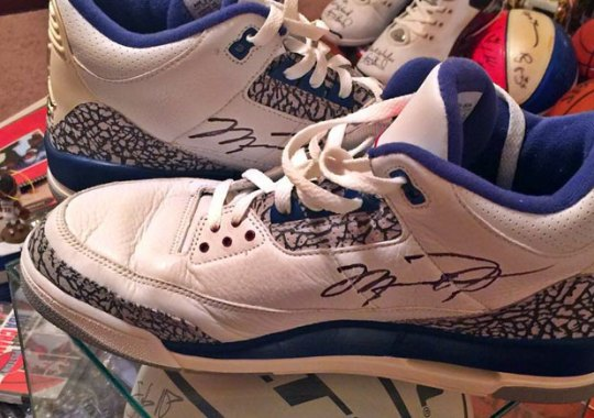 Rip Hamilton Forced Michael Jordan To Give Him His Game-Worn True Blue 3s