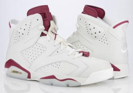 "Air Jordan 6 ""Maroon"" Release Is Confirmed"