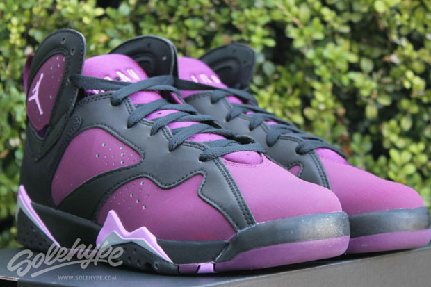 detailed look a4590 71eab ... denmark air jordan 7 gg mulberry. color black fuchsia glow mulberry  wolf grey style code
