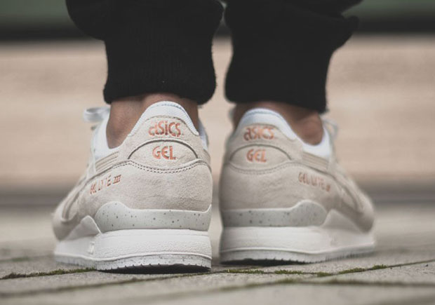 rose gold asics gel lyte iii