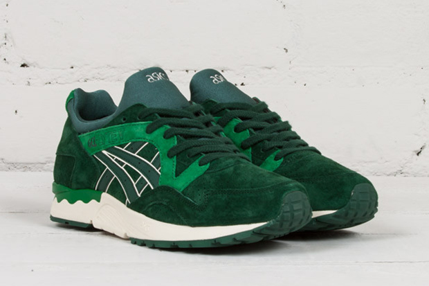 asics gel lyte green