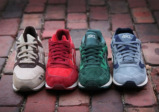 Somehow These ASICS Releases Are Inspired By Scratch-And-Sniff Stickers